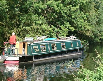 58ft cruiser stern narrowboat River Lea