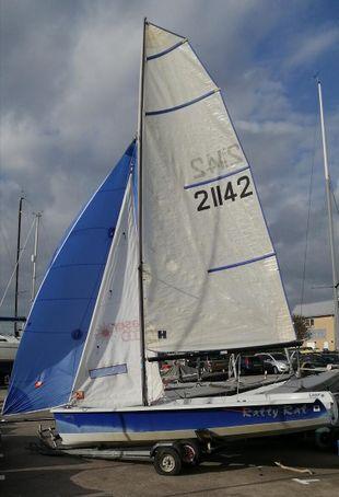 Laser 2000, 2004 hull