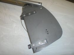 Brand new Laser Bahia rudder stock/tiller and rudder blade