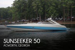 2001 Sunseeker Superhawk 50