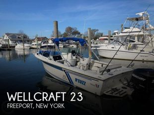 1987 Wellcraft 23 Sports Fisherman
