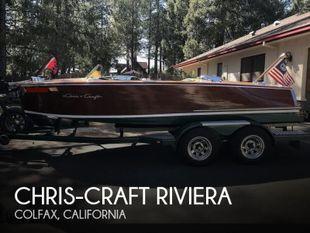 1950 Chris-Craft Riviera