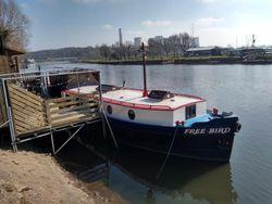 Dutch style barge