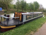 57 foot Liverpool boats cruiser stern