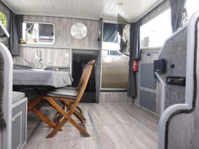 Dutch Steel Motor Cruiser JM YACHT - Saloon