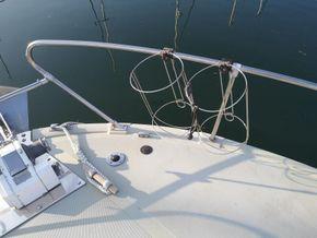 Coronet 32 Oceanfarer  - Foredeck