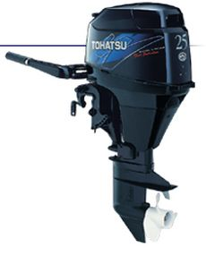 Tohatsu Four Stroke Series MFS25