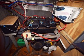 Electrics in engine bay
