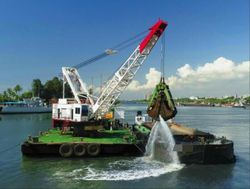 1992 Crane Barge For Sale & Charter