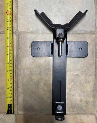 Mast trailerboard bracket & mast support