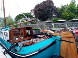 Dutch sailing live aboard