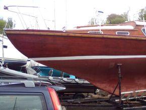 New varnished  hull
