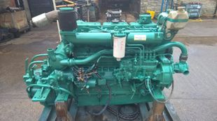 2003Yr Doosan L136 160hp Marine Diesel Engine & Gearbox