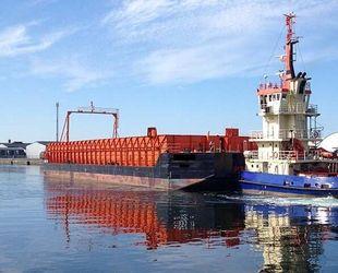 70m x 22m Pontoon Barge
