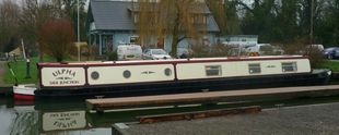 Ulpha 60' Rudyard Semi- Trad, Shire 2001 engine, repainted 2020