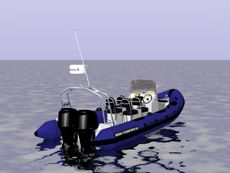 Stormforce 650 Twin Outboard Rendering