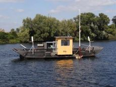 River ferry for cars and passengers