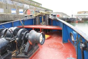 Appledore Devon Motor Tug Dog Class Tug - Foredeck