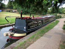 S M Hudson Traditional Narrowboat