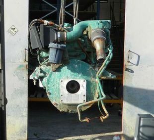 Volvo Penta MD30A Marine Diesel Engine Breaking For Spares