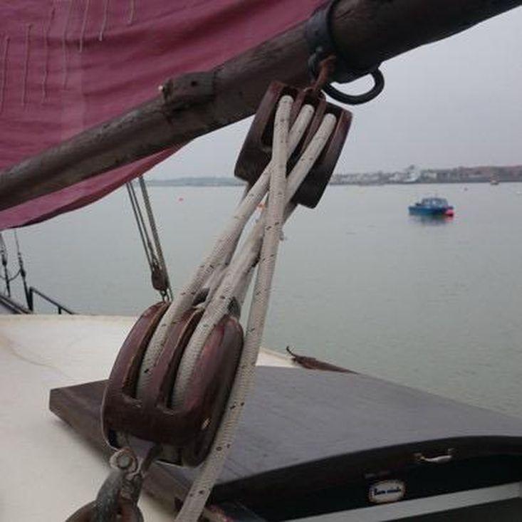 Newly Restored Tjalk, Dutch Sailing Barge. Perfect live-aboard tourer