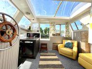 Widebeam Liveaboard Cruising Houseboat canalboat Cruiser