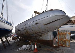 47ft. TRADITIONAL PILOT CUTTER - Project boat