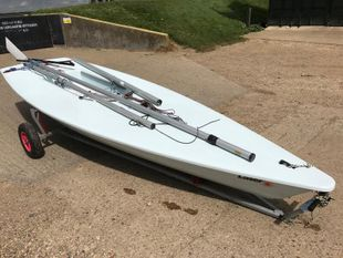 Laser Sail number 211459 (New blue hull)