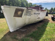 25′ x 8′ Fiberglass Lifeboat - presently unavailable