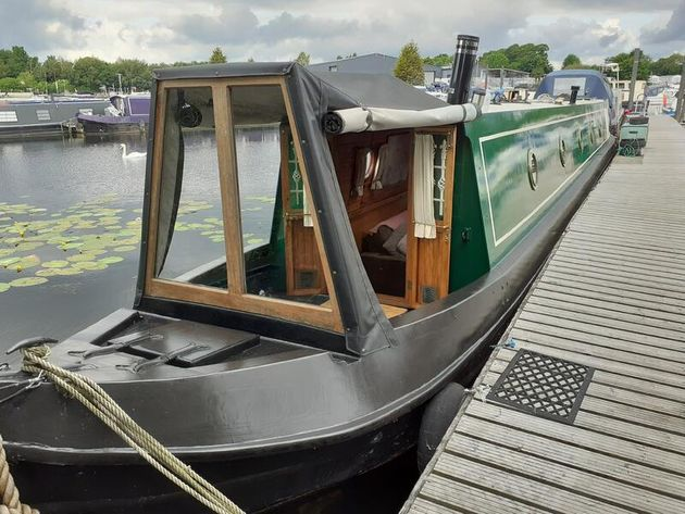 Spen2Up 60ft Trad built 1992 by Mike Heywood
