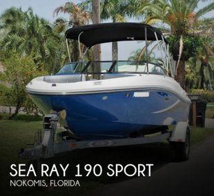 2012 Sea Ray 190 Sport