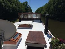 De luxe Motor Ship charter barge fully geared up ready to go