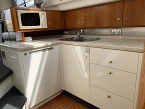 Cranchi 40 Atlantique - Galley