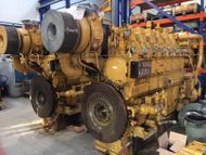 2000 HP CATERPILLAR 3606 DITA USED MARINE ENGINES
