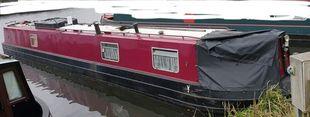 57' Narrowboat, lister ST3 Liveaboard