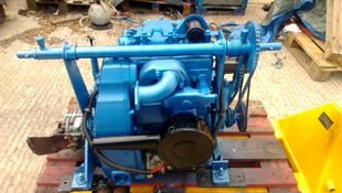 Lister TS2 Marine Diesel Engine Breaking For Spares