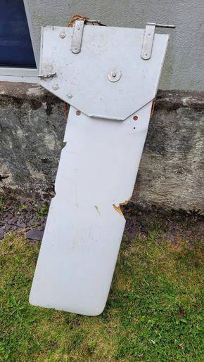 Rudder damage