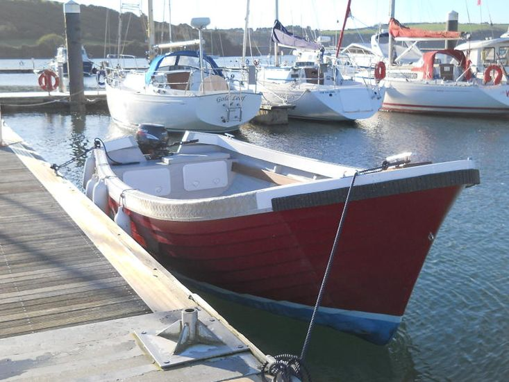 New FM21 Open Work Boat