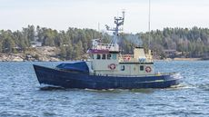 Ice going rescue vessel Gustaf Dalén