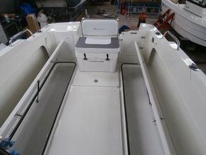 Cockpit lockers open