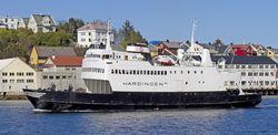 Norwegian built car passenger ferry