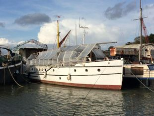 1927 Classic wooden motor yacht Traditional one off build