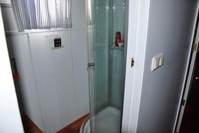Shower and W.C.for No.2 cabin