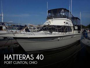 1988 Hatteras 40 Dual Cabin Motor Yacht