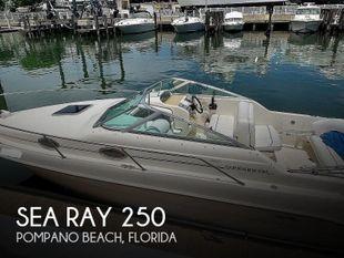 1995 Sea Ray 250 Sundancer