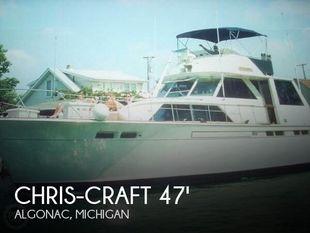 1972 Chris-Craft 47 Commander