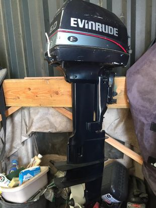 EVINRUDE 6HP OUTBOARD ENGINE