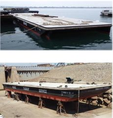 Two (2) Refurbished Combo Deck / Tank Barges