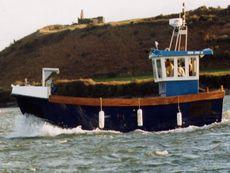 Deltastar 33 Work Boat Aft Wheelhouse