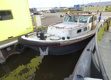 Auction: J.A. Vischer Zwartsluis tugboat Zwartemeer